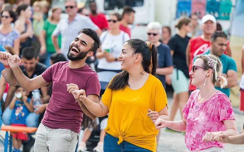 """Fest """"Brüderschaft der Völker"""